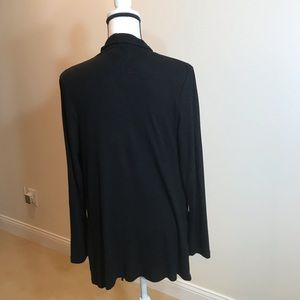 bobeau Sweaters - Long black sweater. Size medium